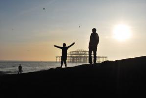Zwiedzanie nad morzem